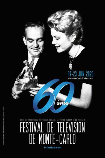 Affiche du 60ème Festival de Télévision de Monte-Carlo