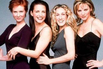 Carrie, Samantha, Cynthia et Charlotte de Sex and the City