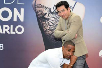Jay Hayden and Jason George