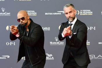 Shemar Moore and Jay Harrington