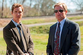 Rust Cohle et Marty Hart - True Detective