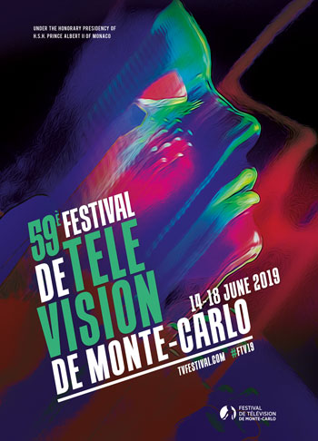 Official Poster of the 2019 Monte-Carlo Television Festival